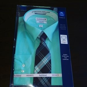 Dress Shirt with Matching woven tie